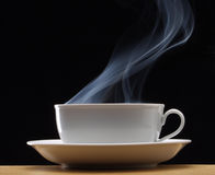 Hot cup drink. Stock Image