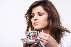 Hot cup of tea. Stock Photography