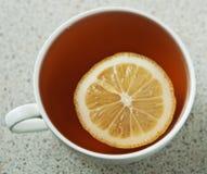 Hot cup of tea Royalty Free Stock Photos