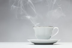 Hot cup of tea Royalty Free Stock Images