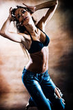 Hot dance Royalty Free Stock Photo