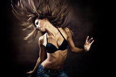 Hot dance Royalty Free Stock Photography