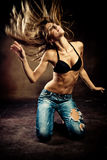 Hot dance Stock Photography
