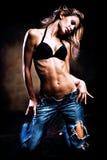 Hot dance Stock Image