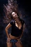 Hot dance Stock Photo