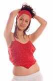 Hot dancer Royalty Free Stock Images