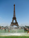 Hot day in Paris Stock Image