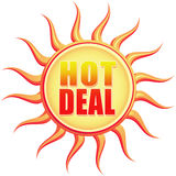 Hot deal stock illustration