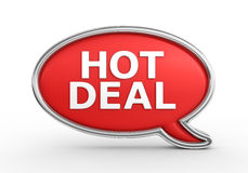 Hot Deal - 3d render Stock Images