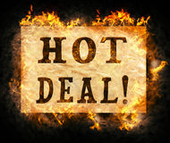 Hot deal ! Royalty Free Stock Image