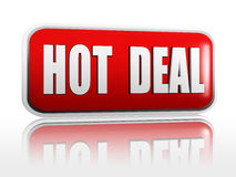 Hot deal banner Royalty Free Stock Images