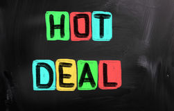 Hot Deal Concept Stock Photo