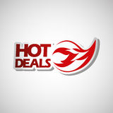 Hot deals design. Illustration eps10 graphic Stock Photo