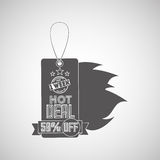 Hot deals design. Illustration eps10 graphic Royalty Free Stock Photography