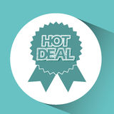 Hot deals design Stock Photography