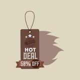 Hot deals design Stock Photo