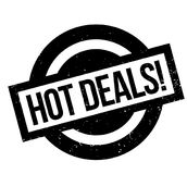 Hot Deals rubber stamp Royalty Free Stock Image