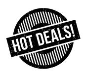 Hot Deals rubber stamp Royalty Free Stock Photos