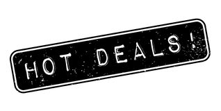 Hot Deals rubber stamp Royalty Free Stock Images