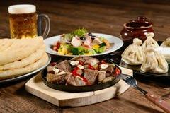 Hot dinner Stock Image