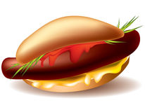 Hot-dog Royalty Free Stock Image