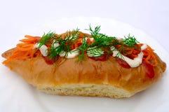 Hot dog Royalty Free Stock Photo