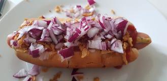 Hot dog photo libre de droits