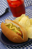 Hot-dog Photographie stock