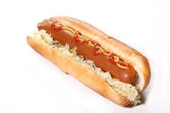 Hot dog Royalty Free Stock Photo