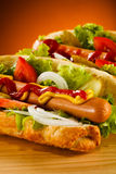 Hot-dog Photo libre de droits