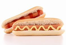 Hot dog Stock Photography
