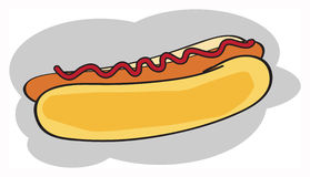 Hot dog Royalty Free Stock Image