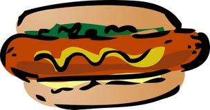 Hot-dog Photo stock
