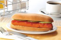 Hot dog Obrazy Stock