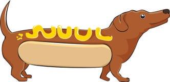Hot-dog illustration stock