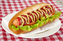 Hot dog Zdjęcia Royalty Free