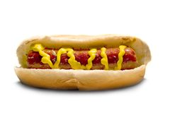 Hot dog Photos libres de droits