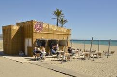 Hot Dog Beach Stock Image