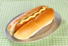 Hot dog bread Stock Photos
