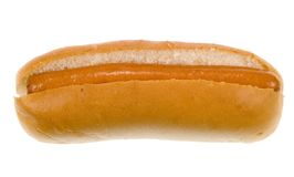 Hot dog in a bun Royalty Free Stock Image