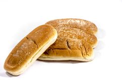 Hot dog buns big deluxe better. Bread is a staple food prepared from a dough of flour and water, usually by baking. Throughout recorded history it has been Royalty Free Stock Photos
