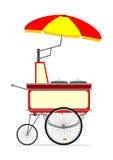 Hot dog cart Royalty Free Stock Image