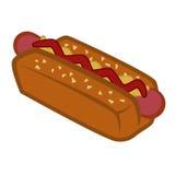 Hot dog design Stock Photos