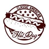 Hot dog design Royalty Free Stock Photos