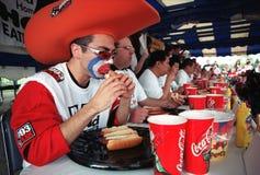 Hot Dog Eating Championship Stock Photo