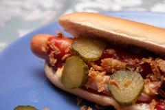 Hot dog fresco Immagine Stock Libera da Diritti
