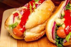 Hot dog Royalty Free Stock Photography
