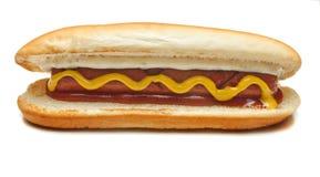 Hot dog, hot dog del pollo, salsiccia, panino Immagini Stock