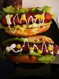Hot dog libre de gluten photos stock