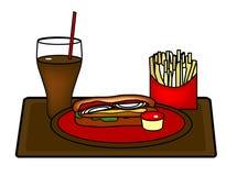 Hot Dog Platter Royalty Free Stock Photo